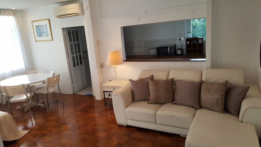 ONE BEDROOM  PENTHSE APT/4PAX@HOLLAND VILLAGE MRT
