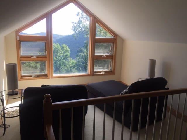 Blue Ridge Mountain Loft Retreat