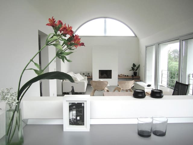 Designer villa with sea view