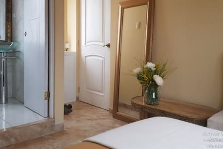 Mini estudio private bathroom and private entrance