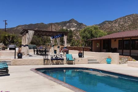 30 Acre Ranch Renovated 2000sqft Adobe House-Pool