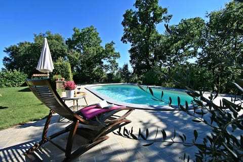 Cozy cottage pet friendly private pool in Tuscany