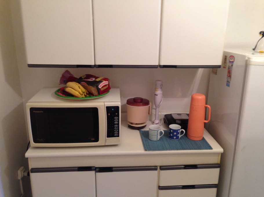 Microwave and various appliances