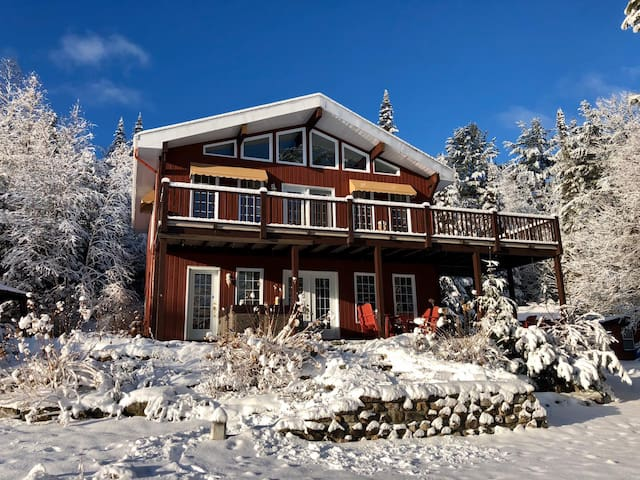 Chalet Lac Vivi (Spa, foyer int. and ext.)