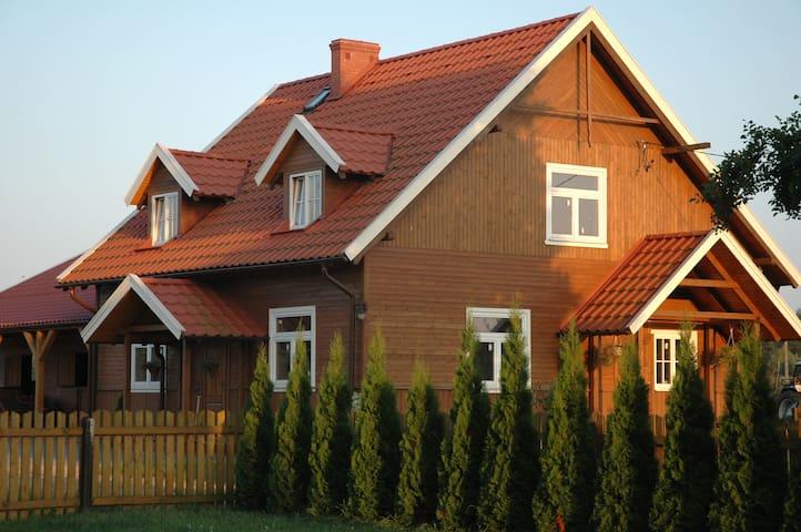 Sielsko Wiejsko. Dom nad Bugiem