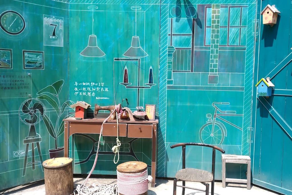 蝸牛巷 裝置藝術