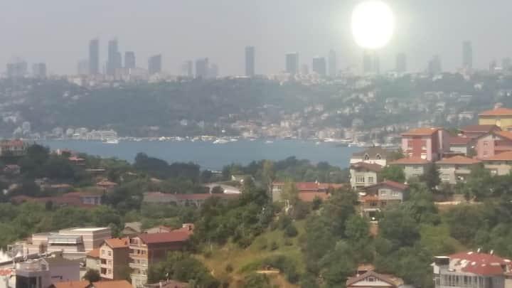 Beautiful flat with great view in the bosphorus