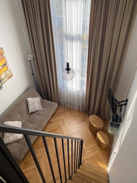 Loft apartment in City centre