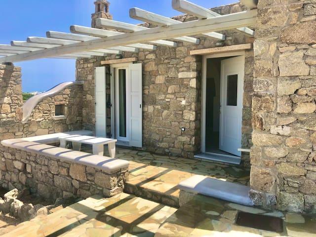 House Near At Psarou Beach
