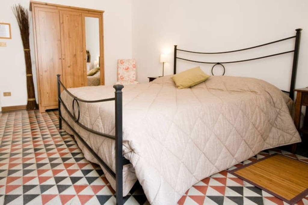 double room with extra doublebed