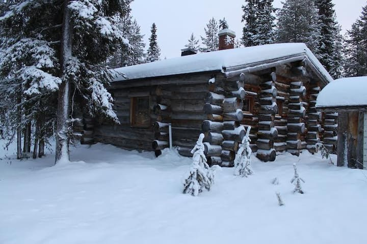 Cozy log cottage for 8 person - Kuusamo - Dağ Evi