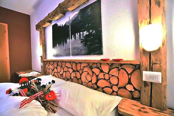 Bed and Breakfast in Val di Fassa, Stanza Superior