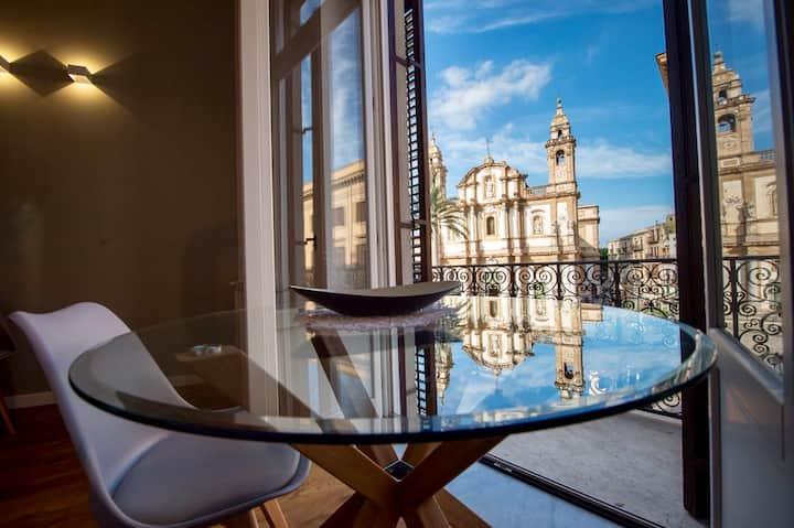 Palazzo Gualtieri Avarna - Stunning loft with view