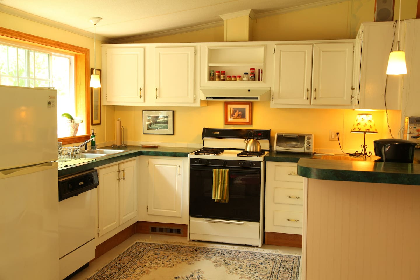 Kitchen of The Hiker's Roost