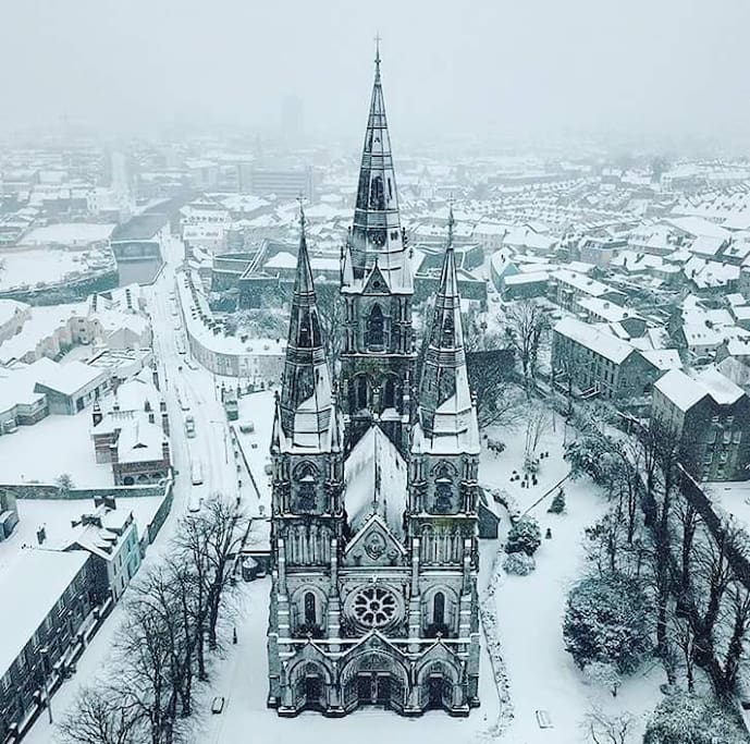 St Finn Barre's Cathedral Cork City, 2018