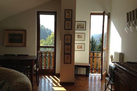 Splendida Mansarda con Vista - Piazzatorre - Wohnung