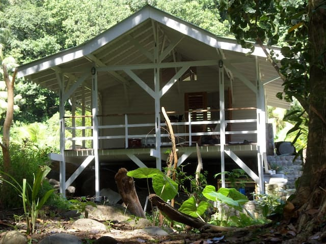 Guava Cherry cottage at Citrus Creek Plantation - La Plaine - Casa