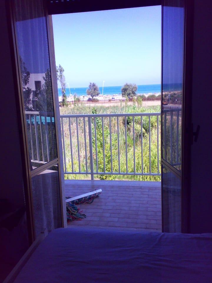 Abitare con il mare dentro casa.