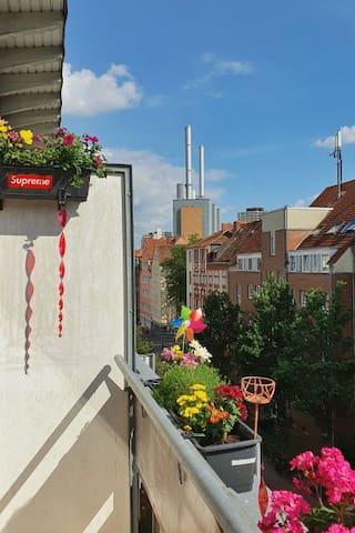 Linden-Nord: Apartment direkt an der Faust