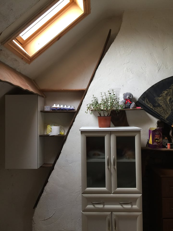 Loft Studio, self contained