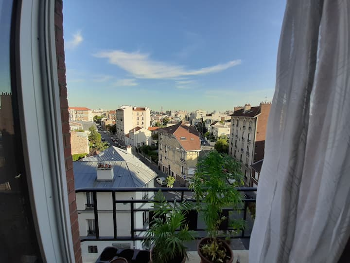 Charmant studio 30 m², Asnières (à 15min de Paris)