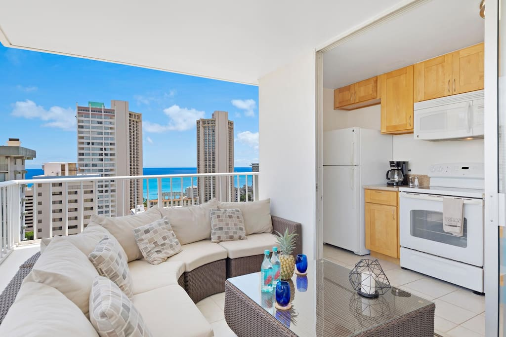 1 Bedroom Ocean View In Waikiki Apartments For Rent In Honolulu Hawaii United States
