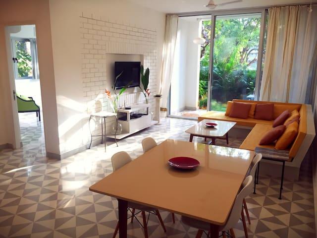 Villa style Garden Apartment: Siolim, GOA