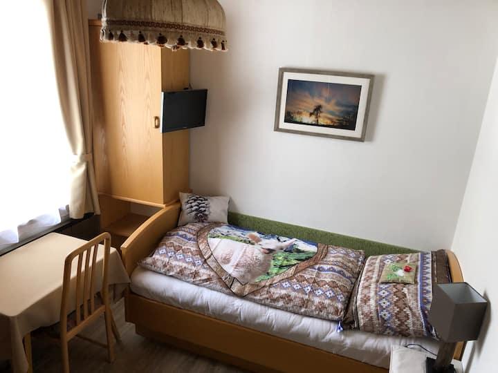 gemütliches Einzelbettzimmer im Haus Kofler