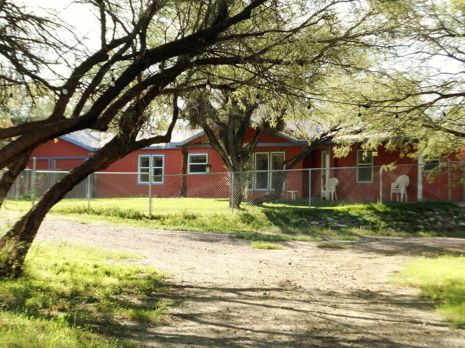 The River Ranch house.