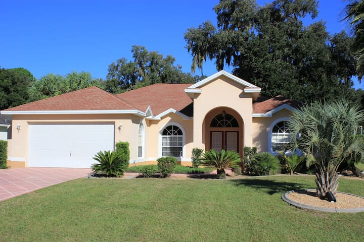 Great rental for family vacations at Golf course