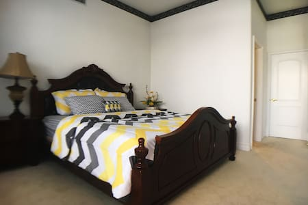 Luxury King Bed&Private Bathroom,  Comfortable!! - West Covina - Villa