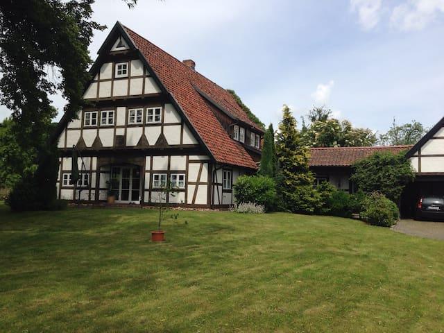 Ländliche Idylle und viel Platz! - Wermsdorf - บ้าน