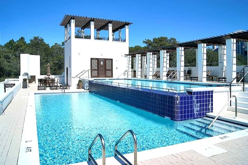 Joie De Vivre is just a short walk from the stunning community pool!