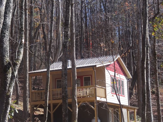 Back to Nature Mtn Cabin--solar powered - Boone - Cabin