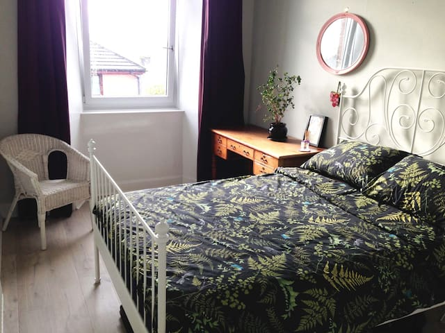 Big room in a bright West End flat - Glasgow - Lägenhet