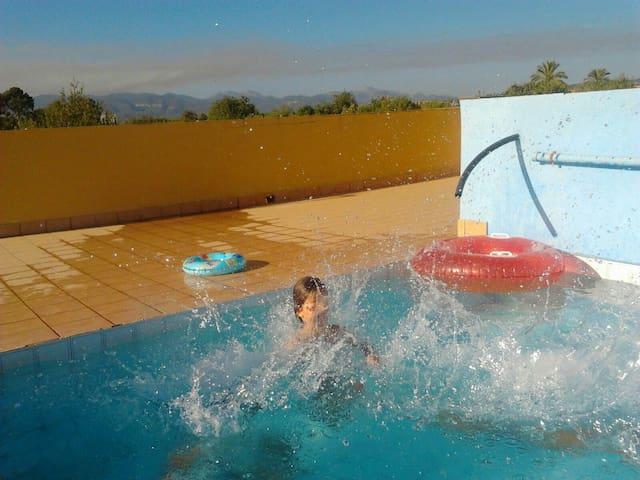 Apartamento-habitación 30m2 con piscina en Palma - Illes Balears - Chalé