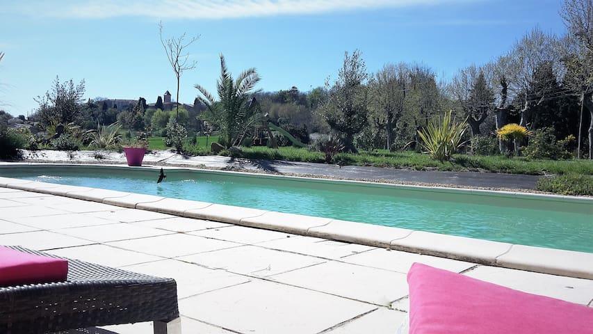 Superbe villa près Carcassonne - Carcassonne - Rumah