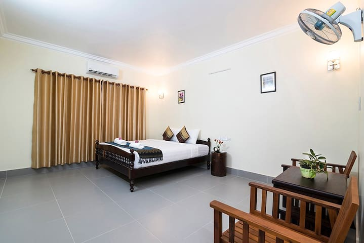 Cozy Double Room as your home+Pick up