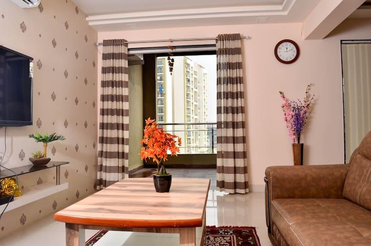 Smart Functional newly designed 2 Bed flat Baner