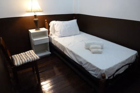 Single bed in our Honu Room - Legazpi City - Casa