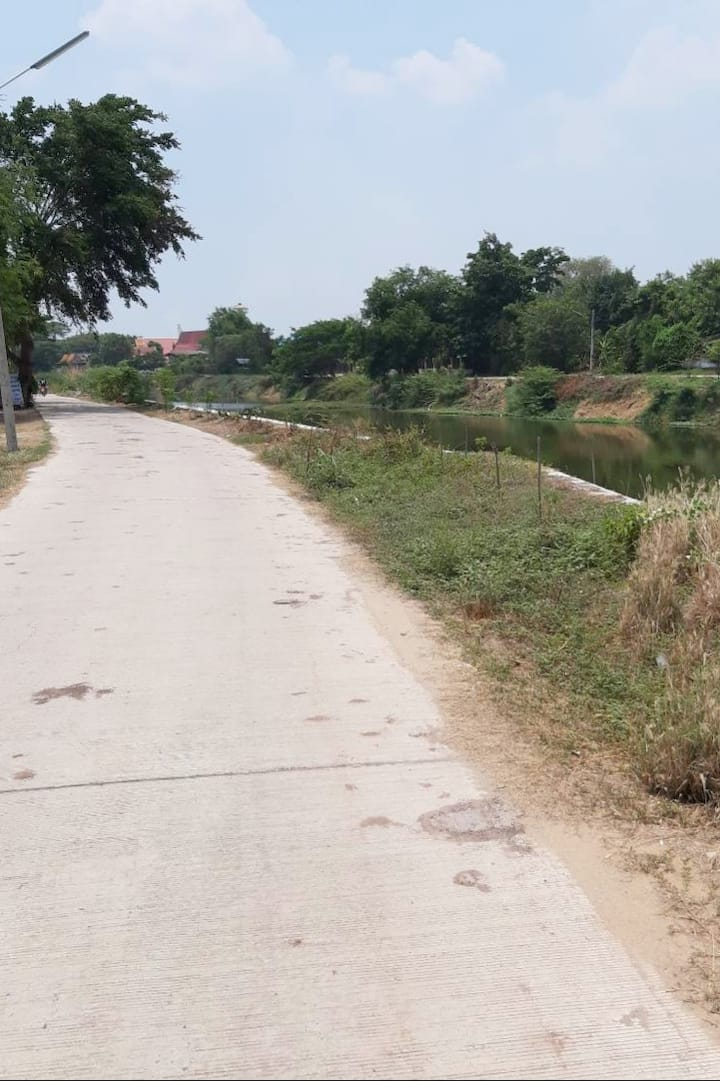 Cycle through Villages & Rice Field