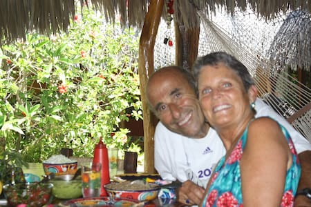 BEACHFRONT TROPICAL GARDEN - Los Barriles - Rumah