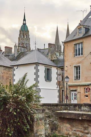 La plus petite maison de France - Bayeux - Huis