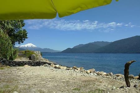 Cabaña y playa en Caburgua, Chile (cerca de Pucón)
