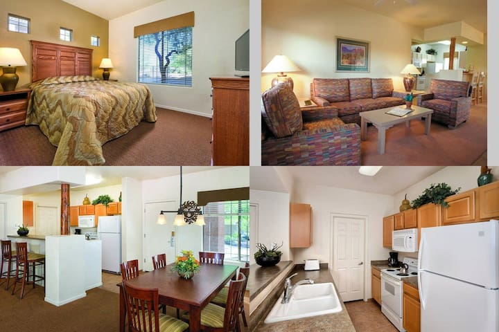 2 Bedroom Wyndham Rancho Vistoso, AZ - Oro Valley - Daire