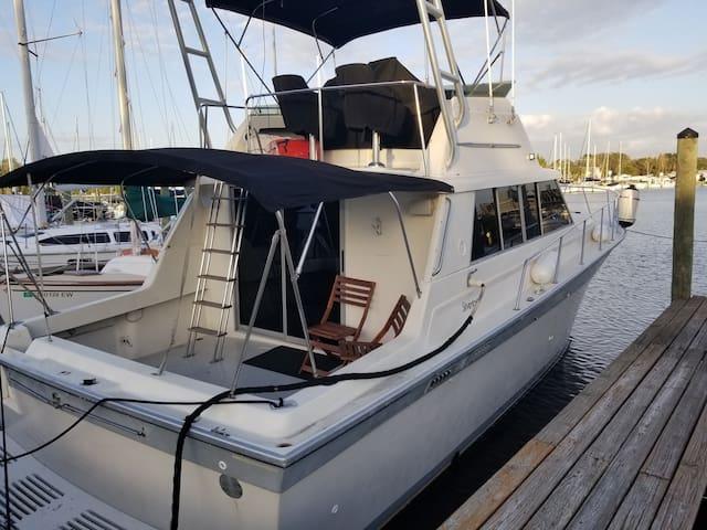 Clearwater Beach-Updated Cabin Cruiser Boat
