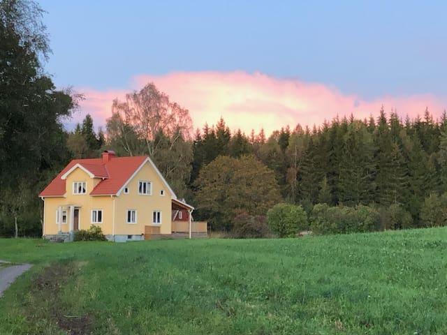 Finn lugnet på gården Paradiset, Ulricehamn