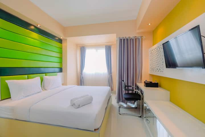 Highest Value Studio Apartment The Oasis Cikarang