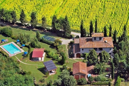 Vallacchi Minesi authentic Tuscany country house - Montaione - Wohnung