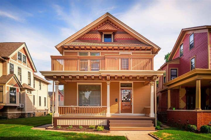 Restored Old Charm Home in Historical West Central